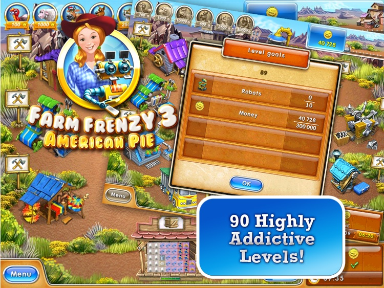 Farm Frenzy 3 – American Pie HD (Free)