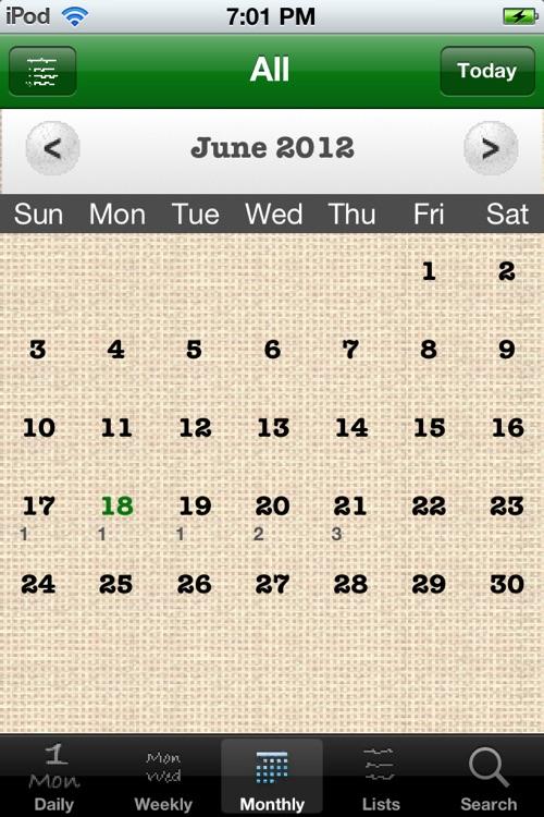 Daily Tasks (To Dos) screenshot-3