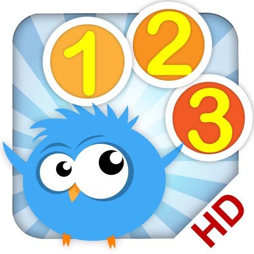 Cute Math - Bird 123 - HD