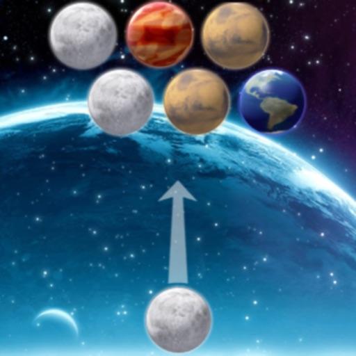 Bubble Shooter Space Edition iOS App