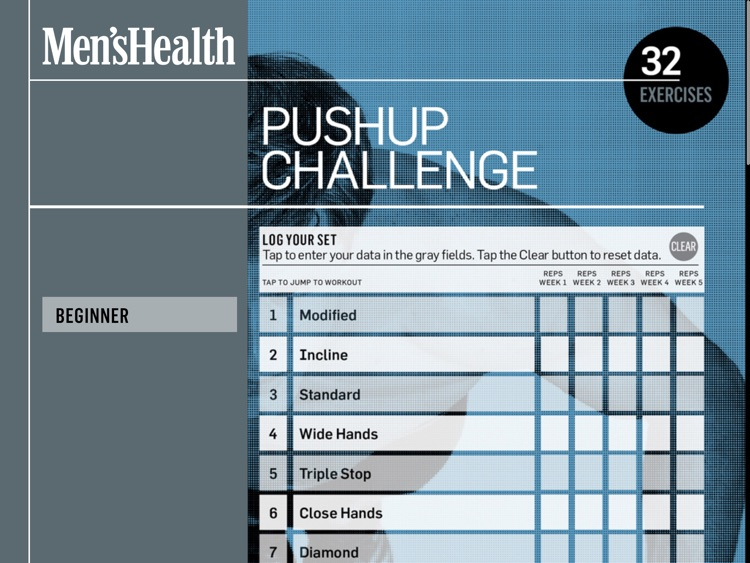 Men's Health Pushup Challenge screenshot-4