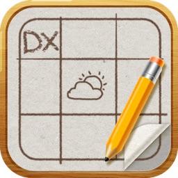 SquareDiary DX