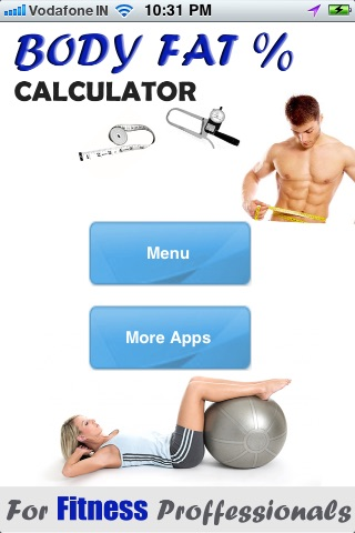 Find Bodyfat % -  Professional Calculator screenshot-0