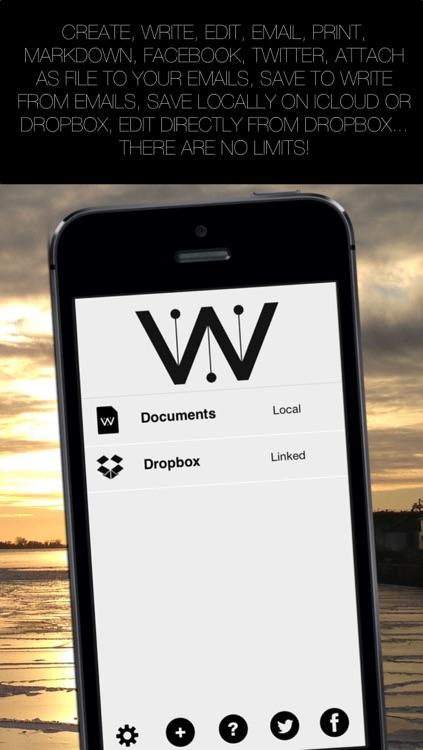 Write for Dropbox and iCloud