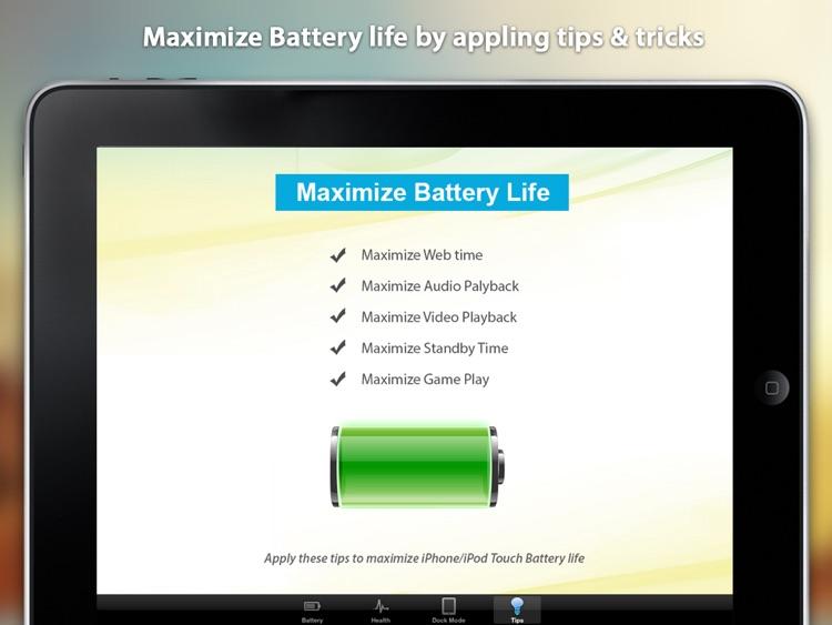 Battery Manager HD - Best Battery App screenshot-3