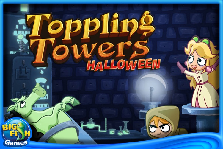 Toppling Towers: Halloween screenshot-0