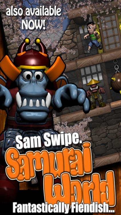 Sam Swipe Pyramid World screenshot-3