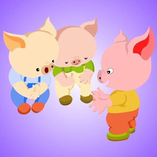 《三只小猪》经典绘本有声故事