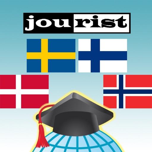Jourist Δημιουργό Λεξιλογίου. Βόρεια Ευρώπη