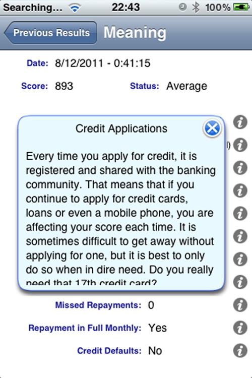 My Credit Score screenshot-4