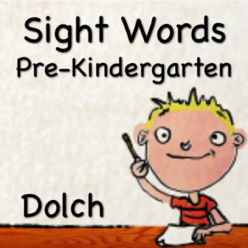 Sight Words - Pre-Kindergarten Dolch Pre-Primer - Talking Funny Flash Cards