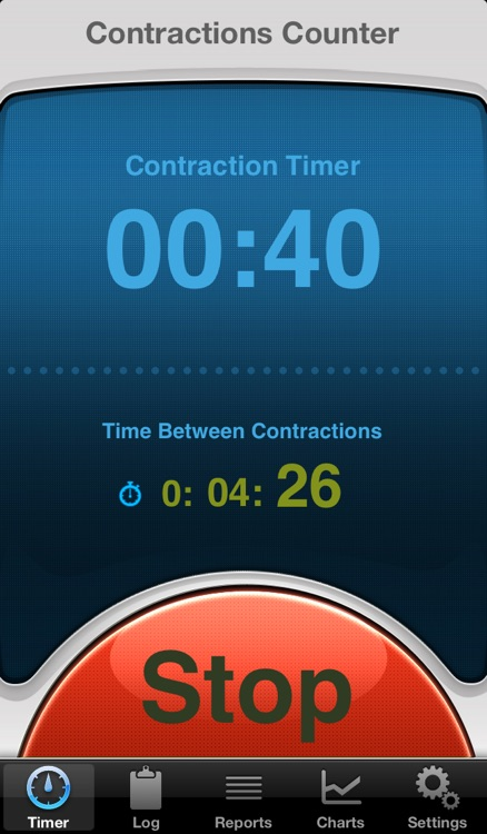 Contractions Counter: pregnancy contraction timer screenshot-3