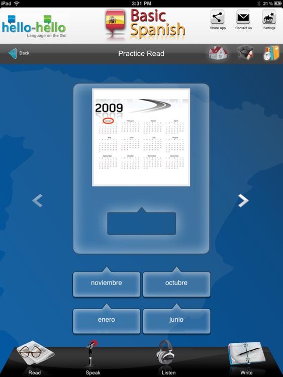 Learn Spanish Vocabulary HH screenshot-3