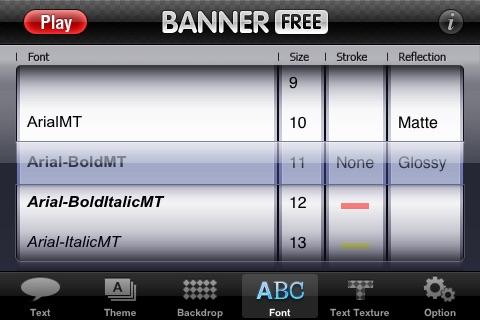 Banner - Free Version screenshot-4
