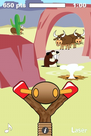 Slingshot Cowboy Plus screenshot-1
