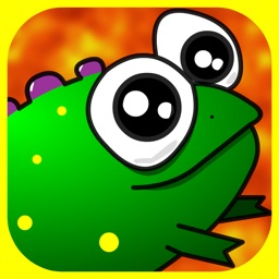 Lava Lizard! HD Don't Step or Tap on the White Hot Lava Tile