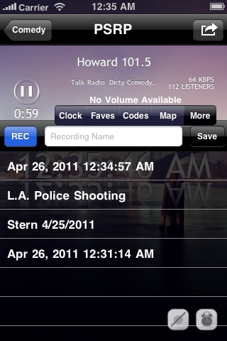 Police Scanner Radio Pro (Music & News Stations) screenshot-3