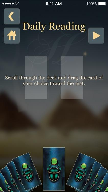 Egyptian Tarot screenshot-3