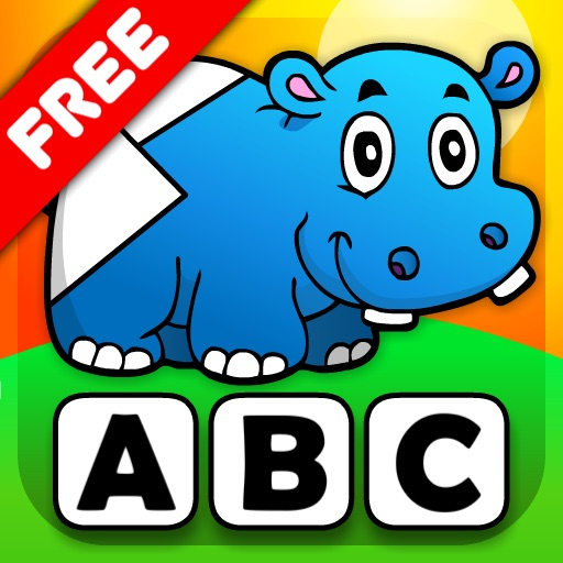 Abby - Preschool Shape Puzzle - First Word FREE (Vehicles and Animals under the Sea) icon