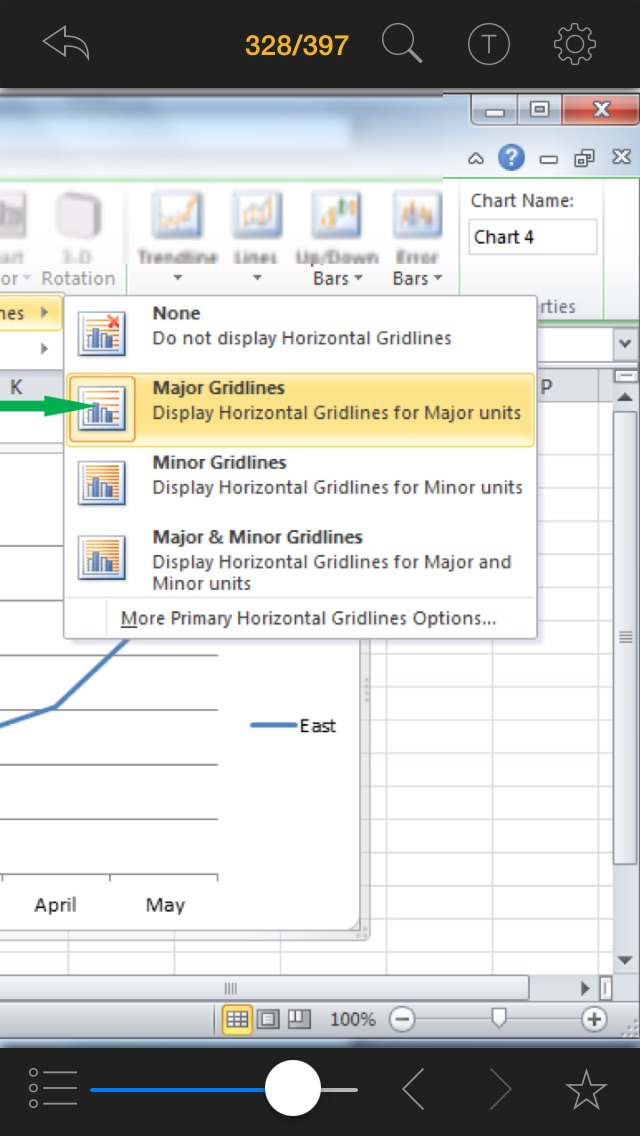 Screenshot #2 pour Master in 24H™ for Microsoft® Excel® 2010