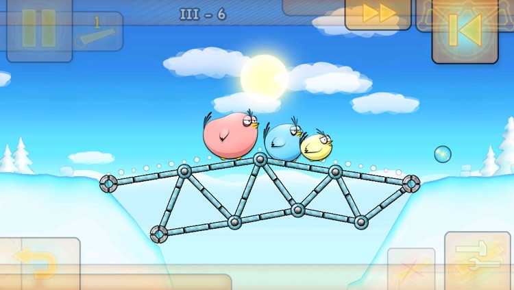 Fat Birds Build a Bridge! HD