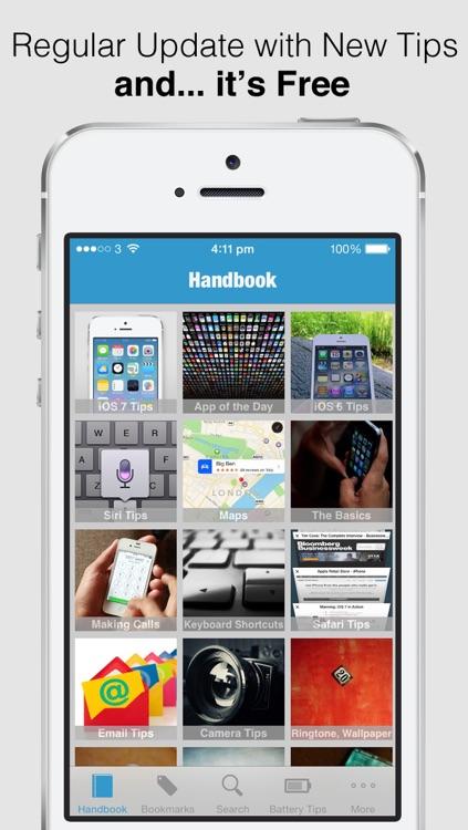 Secret Handbook for iOS 7 - Tips & Tricks Guide for iPhone screenshot-4