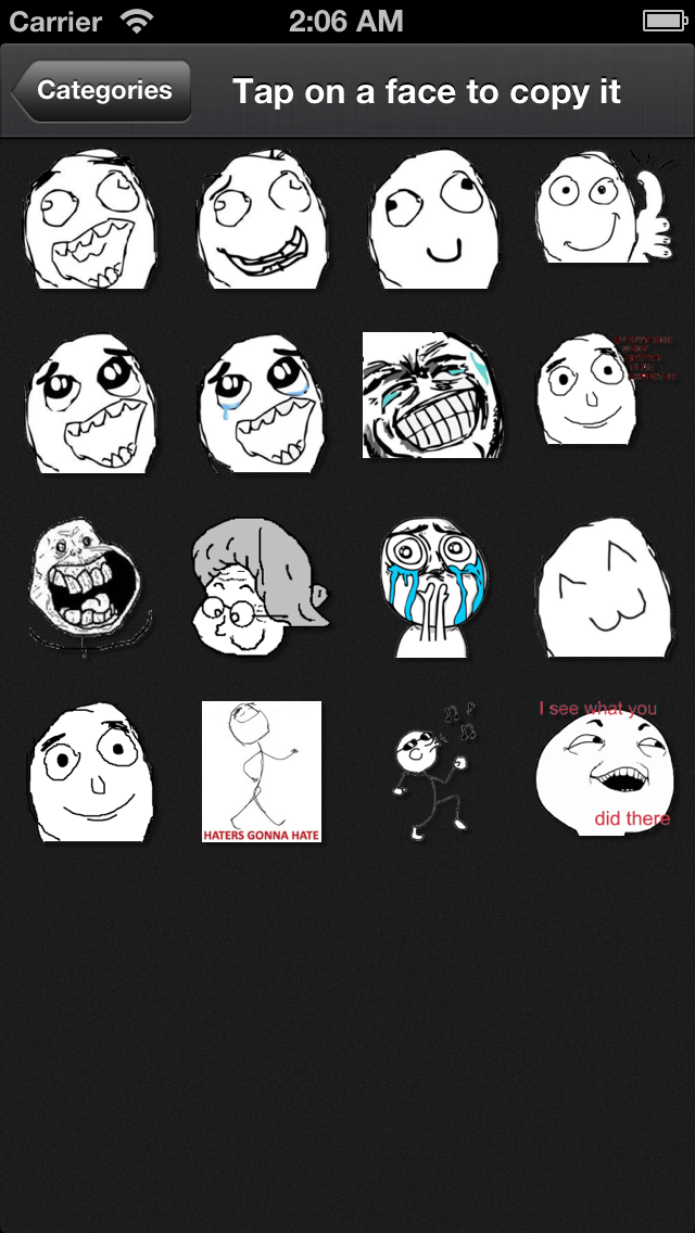Rage FacesCaptura de pantalla de2
