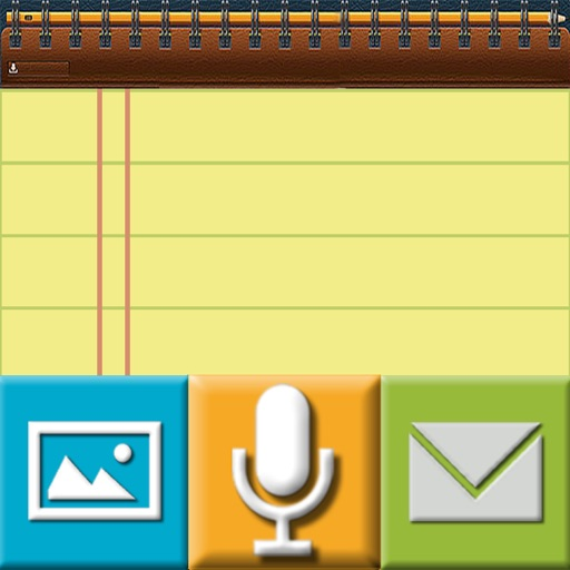 Notepad With Auto Voice Recorder And Camera