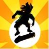 Pocket Skater HD - Xtreme Downhill Urban Street Skateboarding Touch & Rollerblade Drift