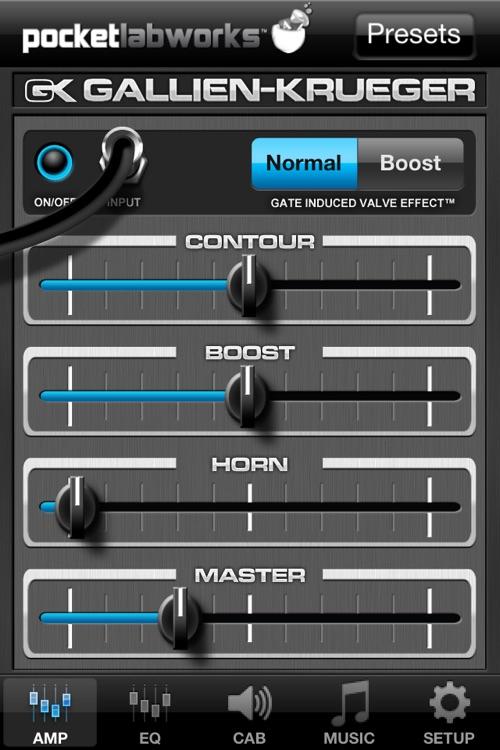 PocketGK - Bass Guitar Amp