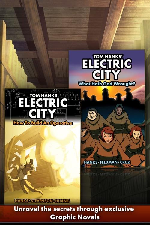 "Tom Hanks' ""Electric City"""