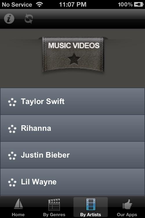 Music Videos. screenshot-3