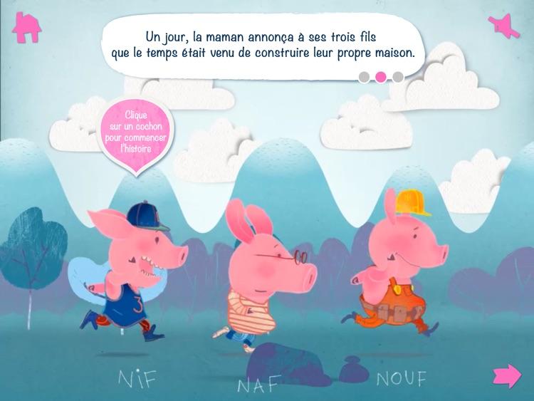 Les 3 petits cochons - Interactif