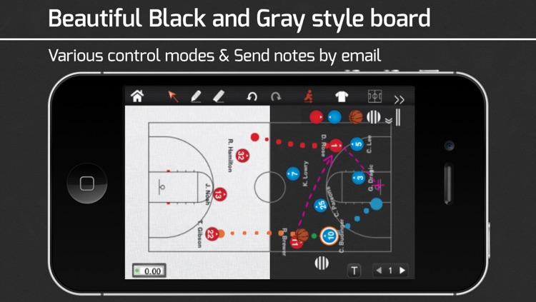 CoachNote Basketball & Netball : Sports Coach's Interactive Whiteboard
