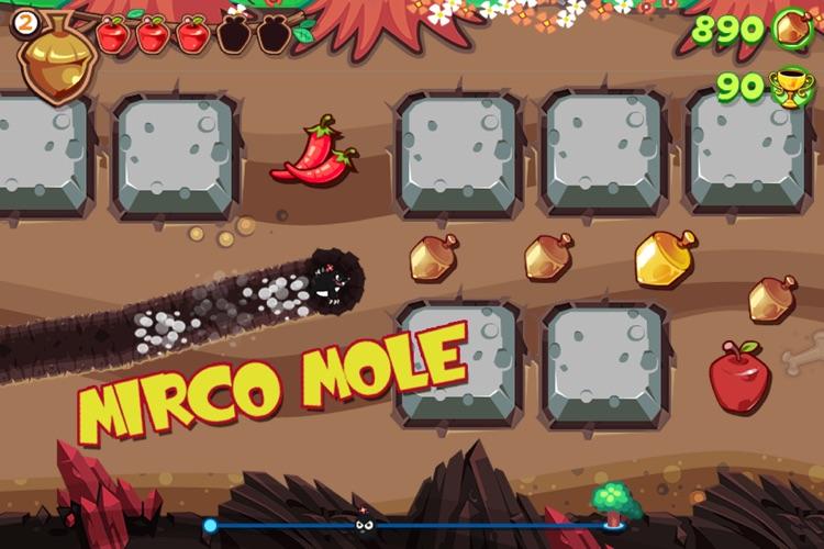 Mole Dash Free screenshot-4