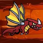 Flappy volar Dragón icon