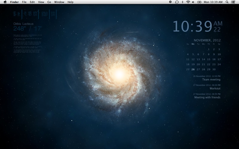 Galaxy Pro - Live Wallpaper Screenshot