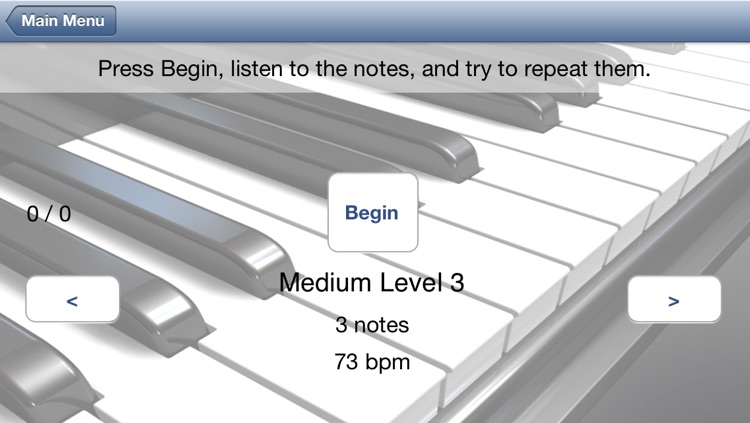 Do Re Mi Ear Training - Solfege, pitch and interval training for singers, composers and music students screenshot-3