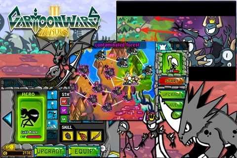 Cartoon Wars 2: Heroes Lite screenshot-4