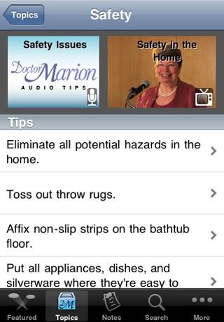 Elder 411 - Senior caregiving made easier with Doctor Marion screenshot-3