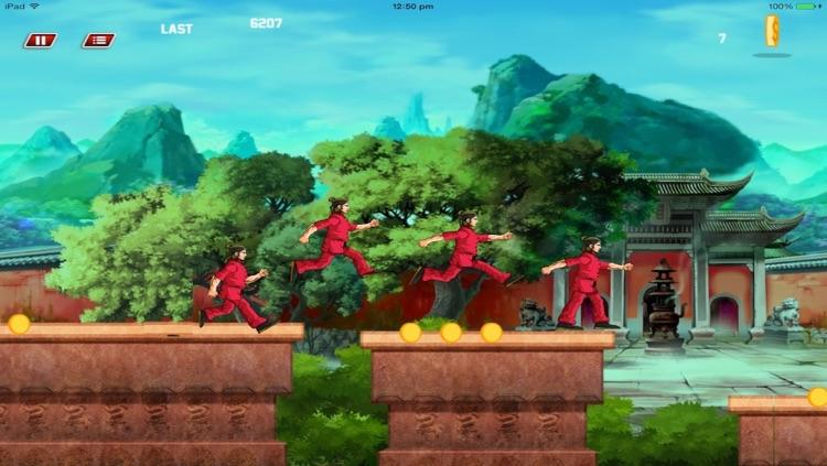 Super KungFu Fighter Run -HD screenshot-3