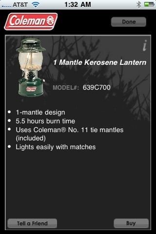 Coleman® Lantern screenshot-4