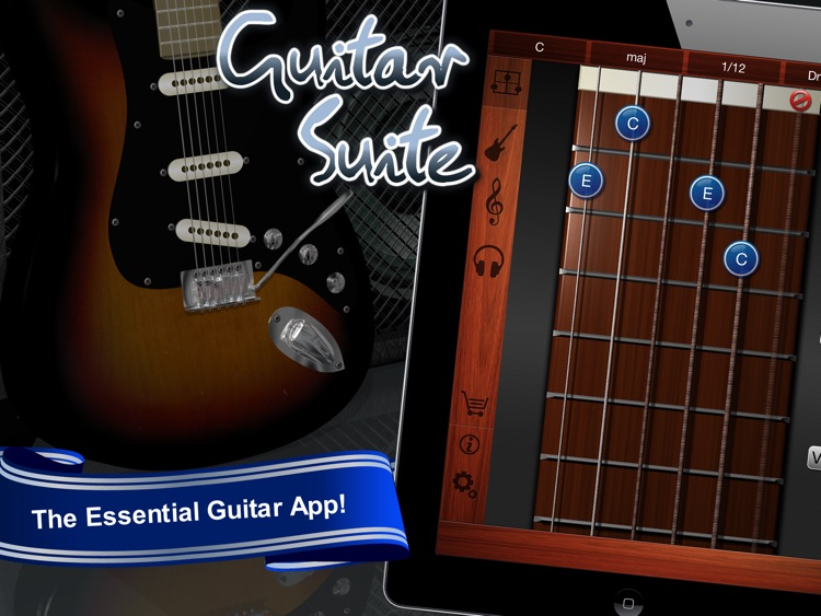 Guitar Suite HD Free - Metronome, Tuner, and Chords Library for Guitar, Bass, Ukulele screenshot-0