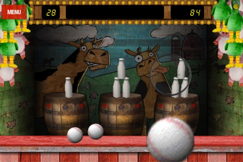 Spill Da' Milk™ Free - The Classic Arcade Games of Ball Toss!