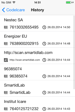 Screenshot of CodeIcare