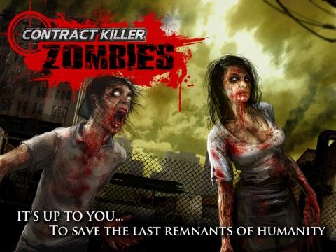 Contract Killer: Zombies-ipad-1