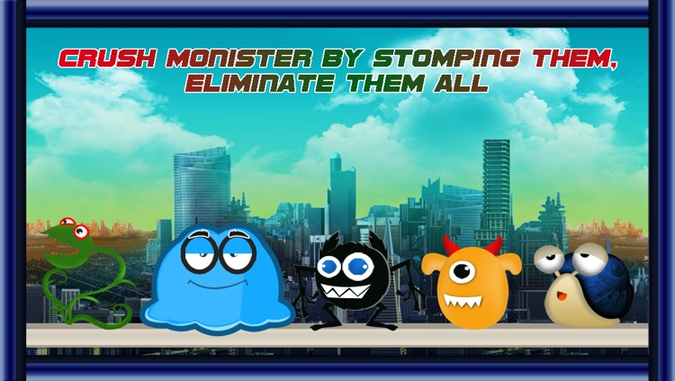 Slam Jumper Robots : The bots fighter stumping monsters - Free edition screenshot-3