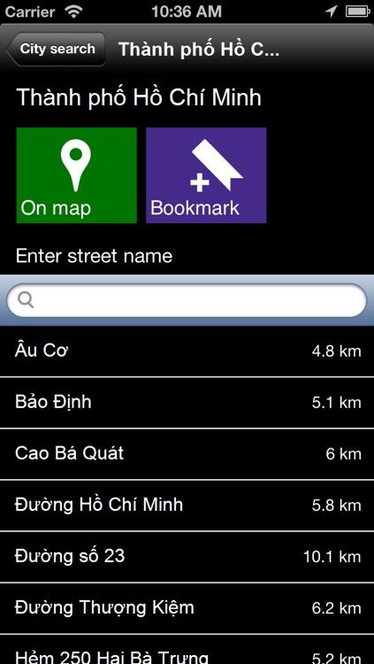 Offline Vietnam Map - World Offline Maps screenshot-4