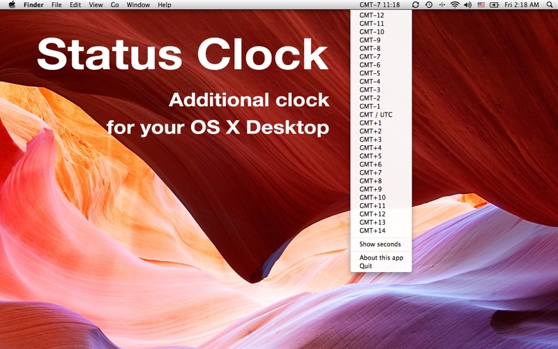 Status Clock скриншот программы 1