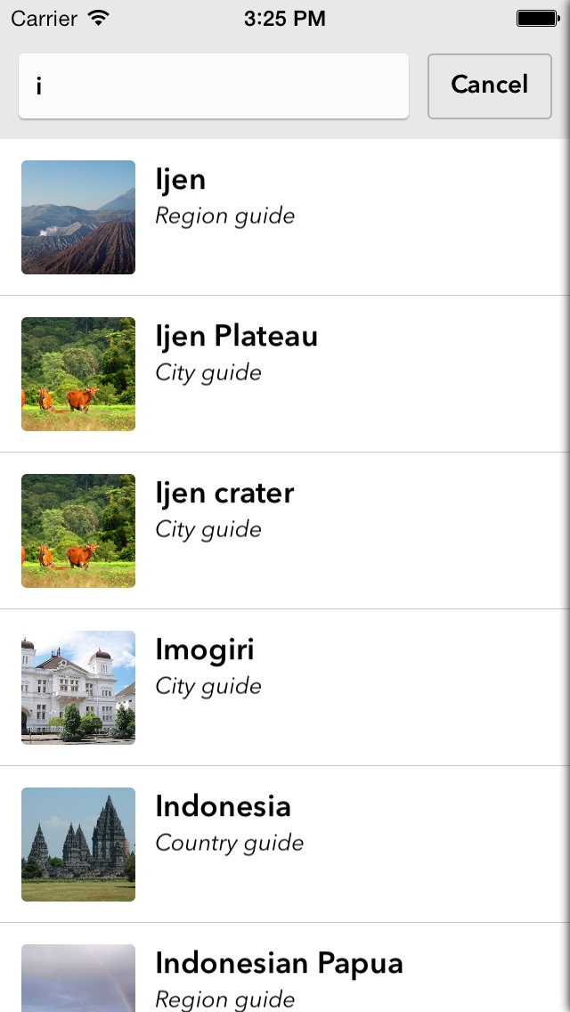 Indonesia Offline Travel Guide iPhone